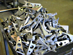 Completed Investment Castings - Dal-Air Investment Castings - Point TX