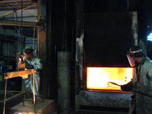 Investment Casting Firing The Shell Mold - Dal-Air Investment Castings - Point TX